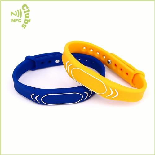 F08 1Kbytes silicone wristband